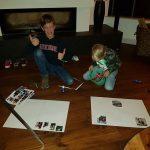 Thema 'La familia'. Knutselen met foto's van familieleden en hen voorstellen in het Spaans!